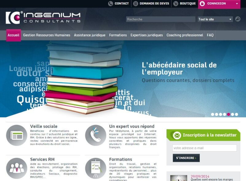 Ingenium Consultants dispense des formations en management