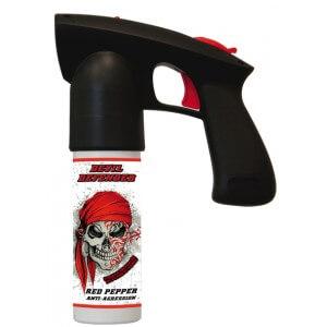La bombe lacrymogène est un des moyens d'auto défense autorisés en France.