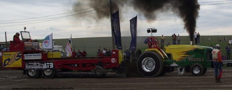 Froggy au tracteur pulling de Bouconville 2010