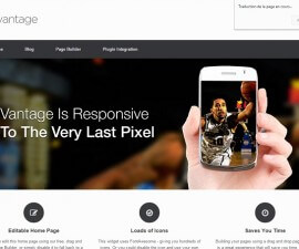 Equiper son WordPress d'un thème premium comme Vantage pour obtenir de meilleurs résultats.