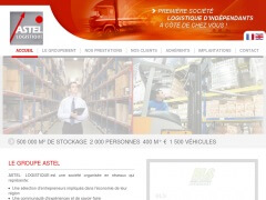 Site web de la société Astel