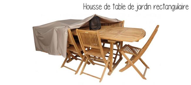la bonne id e adopter la housse de table de jardin. Black Bedroom Furniture Sets. Home Design Ideas
