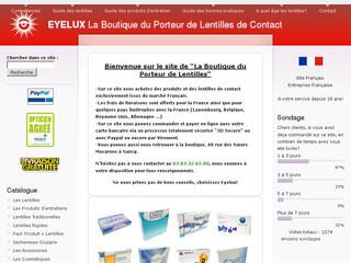 eyelux lentilles de contact meilleur prix