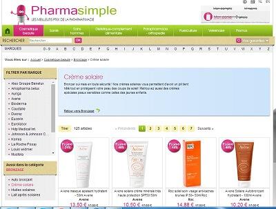Boutique en ligne Pharmasimple