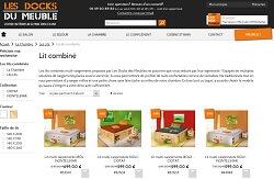 Boutique en ligne Les Docks du Meuble