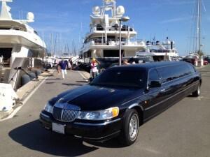 limousine avec chauffeur