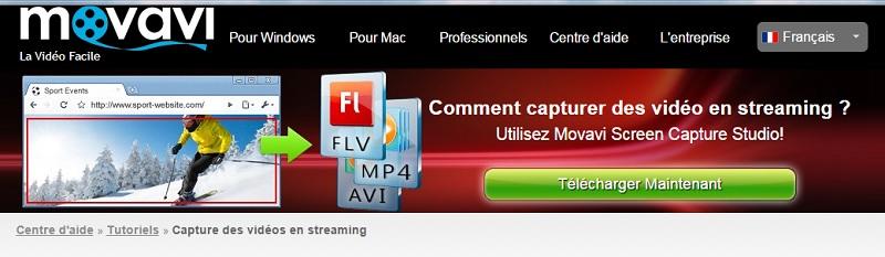 Découvrez comment capturer des vidéos en streaming